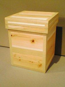 画像1: 茶箱 ストゥール (1)