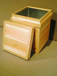 画像1: 茶箱 ストゥール